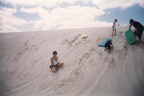 Grey Community Beach Shacks
